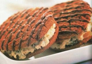 Jewel ricotta-filled Anzac biscuits