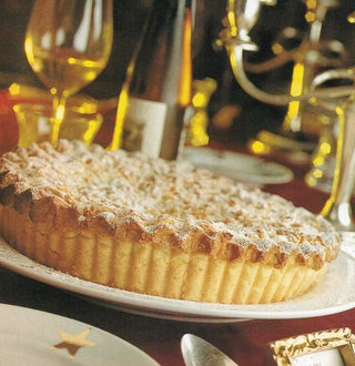 Lemon and sour cream pear pie