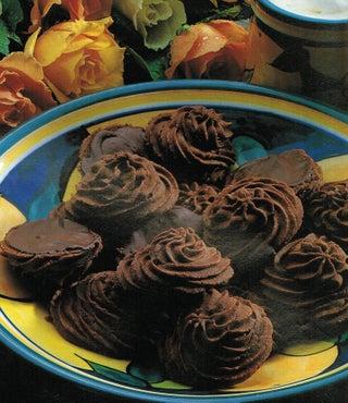 Jaffa butter biscuits