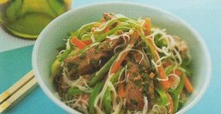 Vietnamese lamb salad