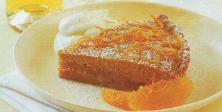 Sweet almond tart