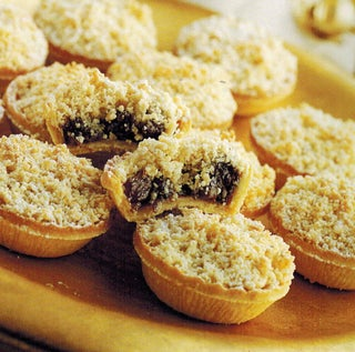 Almond mince tarts