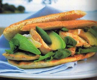 Lemon pepper chicken paninis
