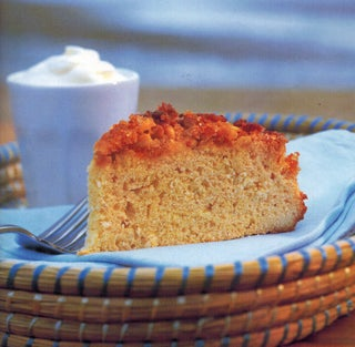 Pinenut and citrus coffee cake