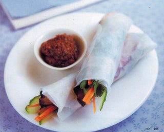 Chinese roast pork with black bean and olive tapenade