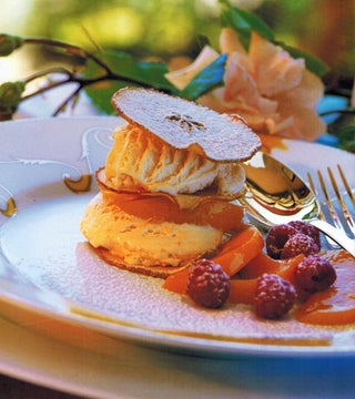 Crunchy apple Mille Feuille