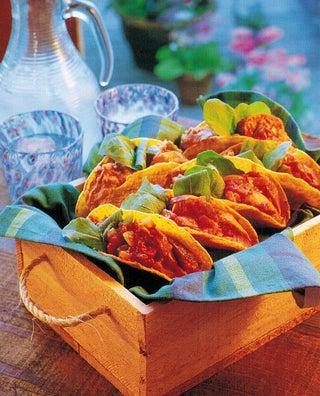 Mexican sausage tacos