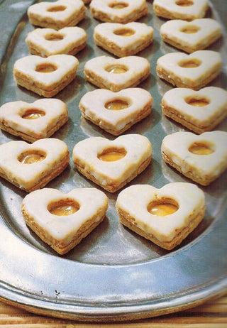 Pistachio biscuits
