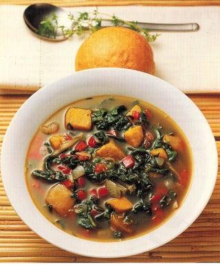 Barbados-spiced kumara soup