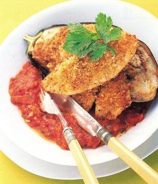 Thai fish in coconut sauce