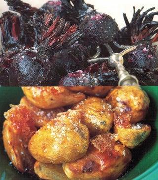 Honey and nutmeg kumara