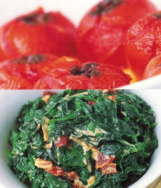 Slow-roasted spiced tomatoes