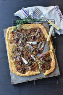 Anchovy and salami slice