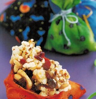 Halloween Popcorn Crunch