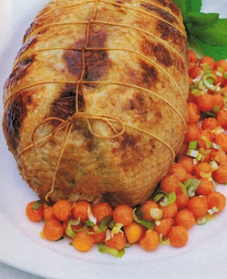 Fragrant Roast Turkey with Pawpaw and Ginger Salsa
