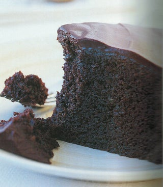 Spiced Courgette Chocolate Cake