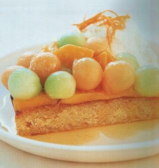 Citrus Yoghurt And Semolina Flan