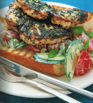 Bbq Hapuka With Garlic Butter And Herbs