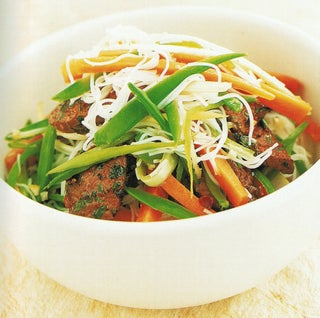 Lamb Salad With Lime Dressing