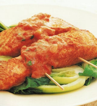 Spicy Fish Fingers With Coconut Sauce