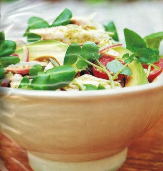Spring Chicken And Cress Salad