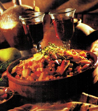 Aubergine And Quince Tagine