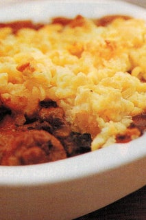Steak And Kidney Pies With Cheese Crumble Pastry