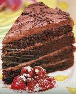 The Cafe Chocolate Cake