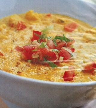 Golden Cauliflower Spice Soup