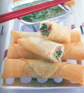 Chilli Thai Chicken Rolls