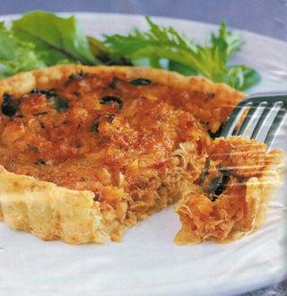 Tomato And Crabmeat Tapas Tarts