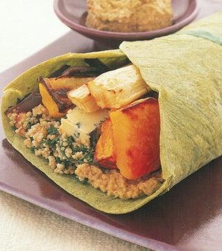 Roasted Vegetable Wraps