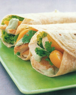 Thai Chicken Wraps