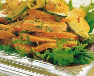 Nectarine And Smoked Chicken Salad