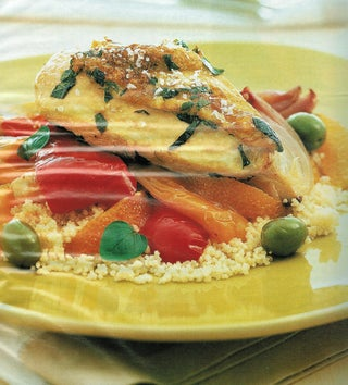 Summer Chicken With Peppers