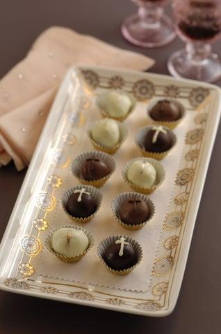 Chestnut And Chocolate Mud Truffles