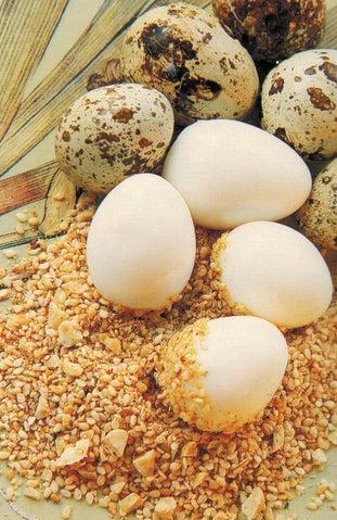 Dukka Rolled Quail Eggs