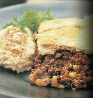 Spicy Lamb Baklava
