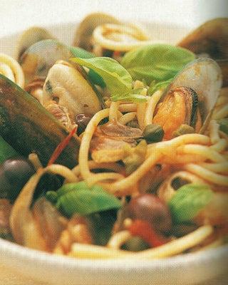 Seafood Pasta Ragout