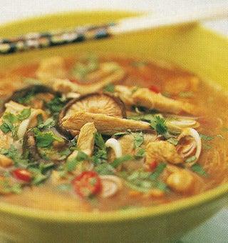 Thai Chicken On Noodles