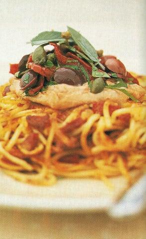 Spaghetti And Chorizo Pancakes