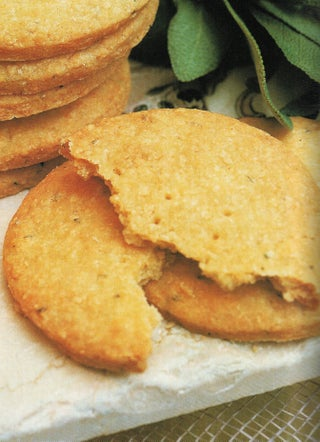 Sage and blue-cheese sables