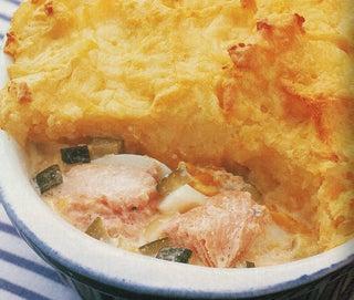 Creamy Salmon Pie