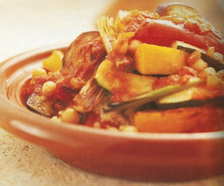 Moroccan Roasted Vegetable Couscous