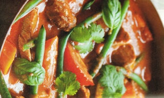 Thai Kumara And Pork Curry