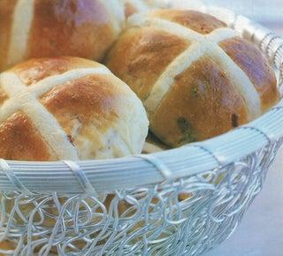 Almond Hot Cross Buns