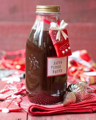Jaffa Fudge Sauce