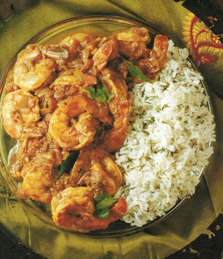 Prawns In Sweet Hot Curry