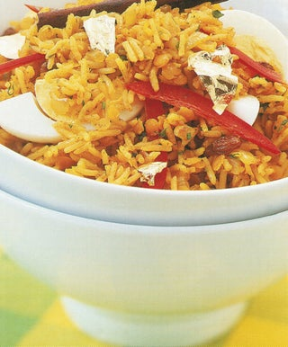 Fragrant Lentil And Basmati Pilaf
