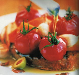 Spanish Tomatoes On Grilled Bread